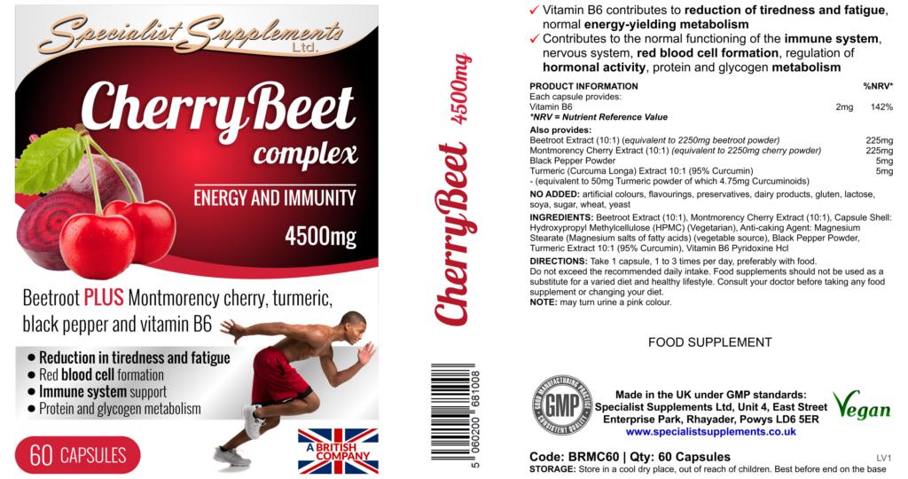 cherry beetroot immunity